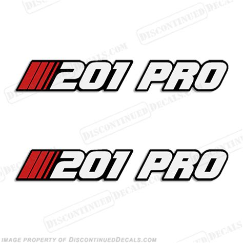 stratos boats logo stratos quot 201 pro quot decal style set of 2