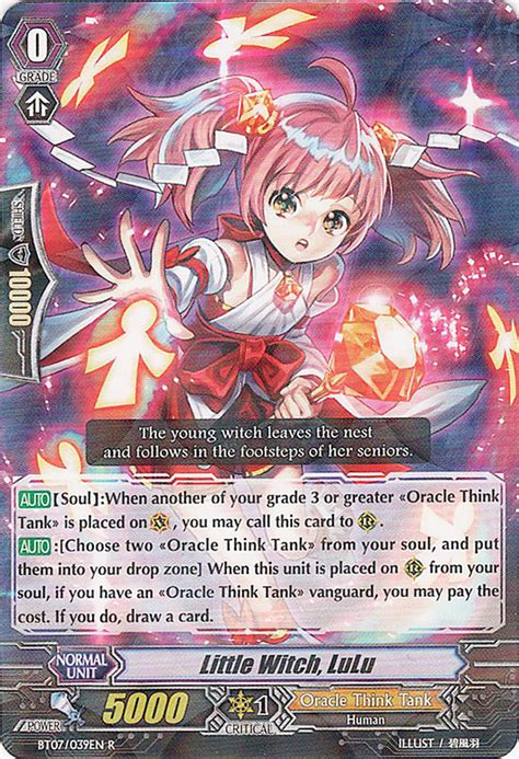 Vanguard Cardfight Oracle Think Thank Deck Eng soulless oracle think tank epichippo s cardfight vanguard