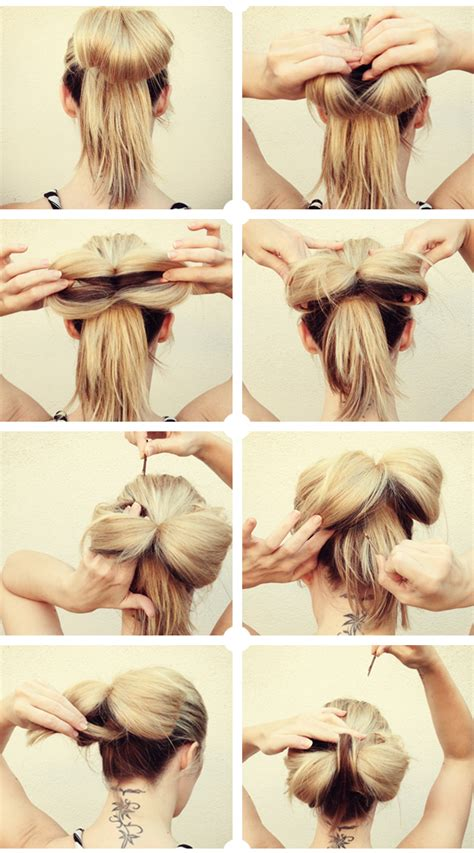 Diy Hairstyles Bow | tuba edman big floppy hair bow tutorial