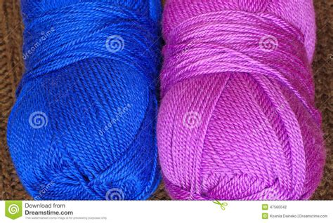 how many skeins of yarn to knit a blanket two skeins of knitting yarn stock photo image 47560042