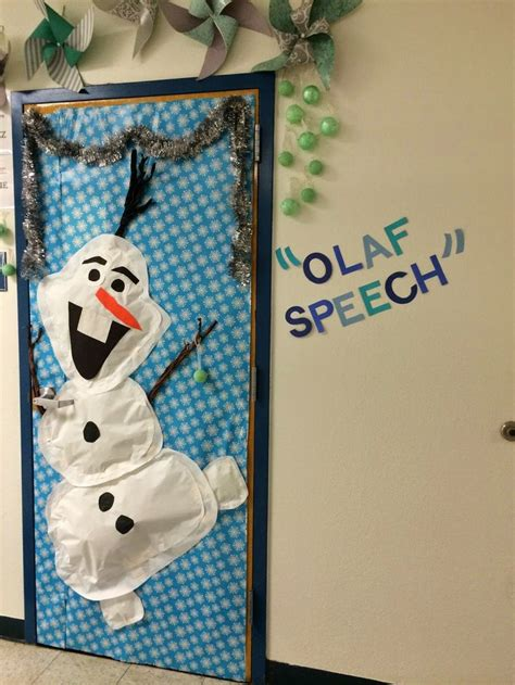 themed door decorating contest 25 best ideas about frozen classroom on