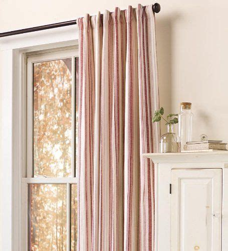 red and white striped curtains ikea 17 best ideas about striped curtains on pinterest big
