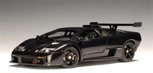 El Diablo Lamborghini Autoart Lamborghini Diablo Gtr Black 54522 In 1 43