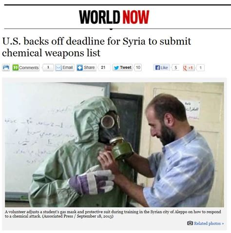 Syria Syari List syria deadline chemical weapons kerry