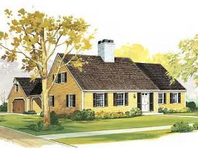 Cape House Plans Starter Or Retirement Home Plan Cape Cod Traditional 3