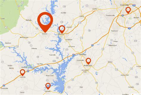 Carolina Sunrooms Porch Conversion Of Seneca Sc Service Area Map