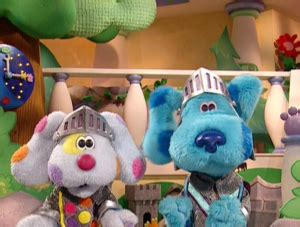 blues room episodes blue s room episode 15 knights of the snack table puppet wikia puppeteering puppets