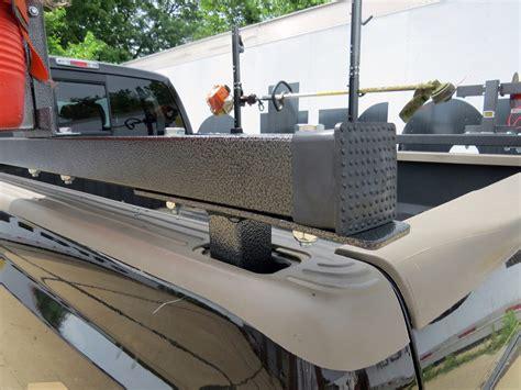 truck bed cooler rack em rack for truck bed side rails holds 2 trimmers 1 blower 1 spool 1 cooler