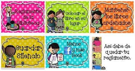 imagenes reglamento escolar primaria reglamento de la biblioteca de aula en tarjetas