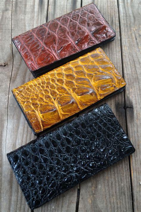 Dompet Kulit Buaya Asli dompet panjang kulit buaya