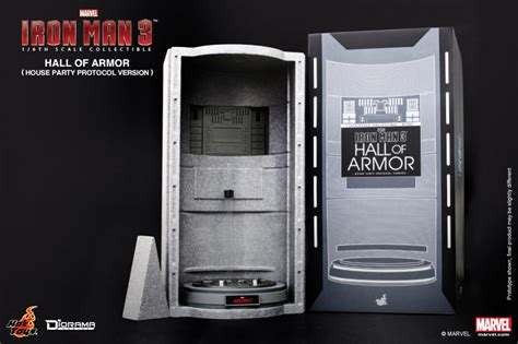 general news hot toys ds iron man hall