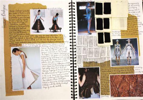 fashion design research methods fashion sketchbook hussein chalayan fashion design