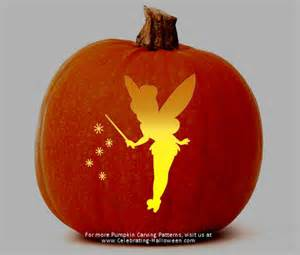 pumpkin template 16 printable tinkerbell pumpkin templates designs