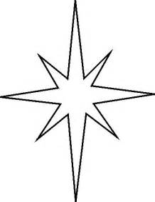 Learn to draw compast stars template christmas star stencil free