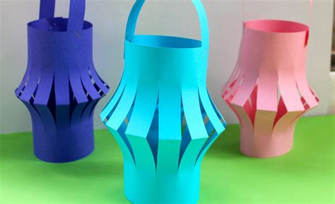 Make Paper Lantern - drop in make a paper lantern for new year the