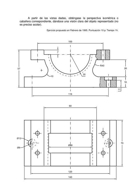 Dibujo tecnico ejercicios