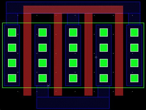 mosfet transistor layout question about layout of mosfet in cadence