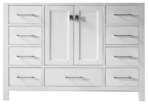 bathroom vanity cabinets only caroline avenue single vanity base only transitional