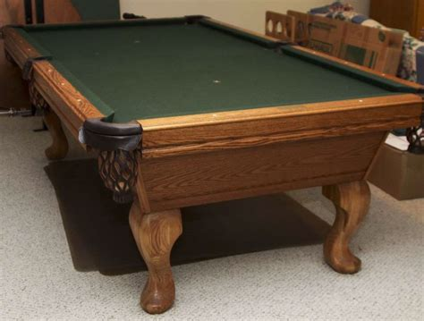 used olhausen pool tables olhausen pool table model