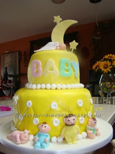 Coolest Baby Shower Cakes by Cool Baby Shower Cake