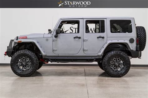 Jeep Wrangler Hardtop Lift Starwood Motors 2017 Jeep Wrangler Unlimited 4x4 Lift