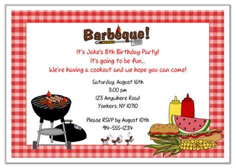 free printable birthday bbq invitations free simple birthday party invitations printable drevio