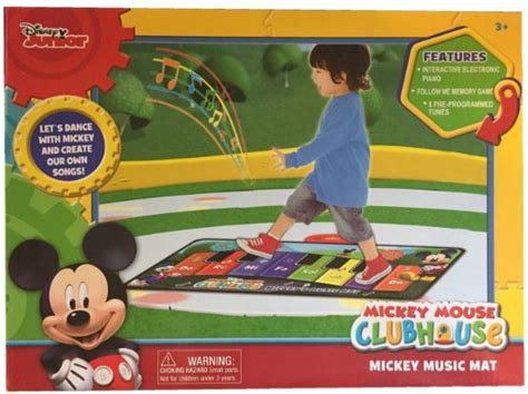 Disney Michy Mouse Musical Mat - disney junior mickey mouse mat 17 99 from 30