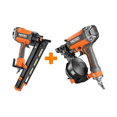Home Depot Nailer by Today Only Ridgid Pneumatic Nailers At Home Depot