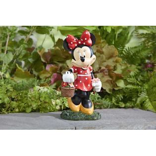 disney minnie mouse statue outdoor living outdoor decor lawn ornaments statues