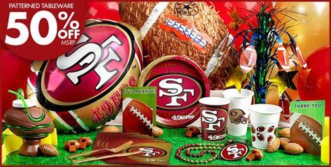 san francisco themed decorations nfl san francisco 49ers supplies fan atic