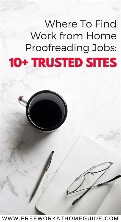 Find Where Work Pinterest Where To Find Work From Home Proofreading Jobs 10 Trusted Sites Free