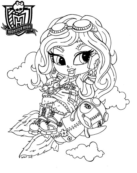 dibujos para colorear de monster high de beb s dibujos dibujos para colorear monster high