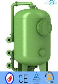 desalination active carbon sand industrial air filter housing for chemical pre treatment