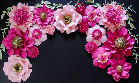 in full flower inspired 0847858693 kate spade inspired paper flower backdrop wedding backdrop