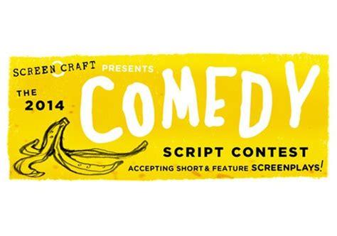 contest 2014 deadline attention screenwriters screencraft comedy script contest