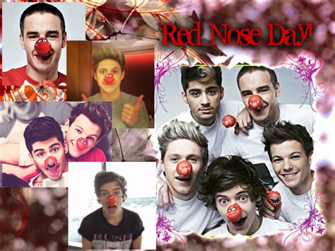one direction red nose day one direction images red nose day hd wallpaper and