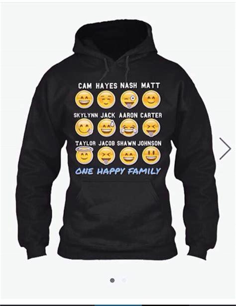 Hoodie Magcon Jidnie Clothing magcon emoji print hoodie wheretoget