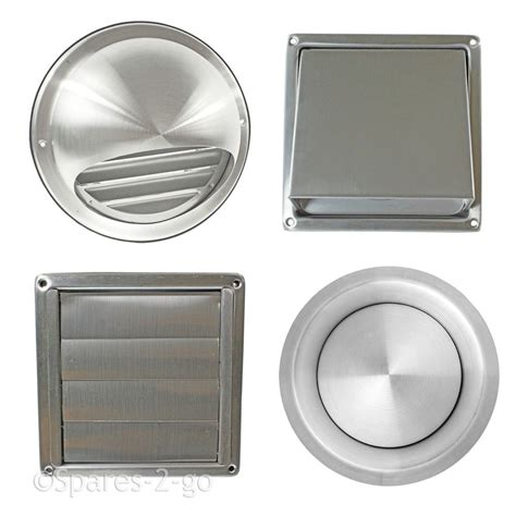 exterior bathroom exhaust vent covers stainless steel wall air vent metal cover outlet exhaust