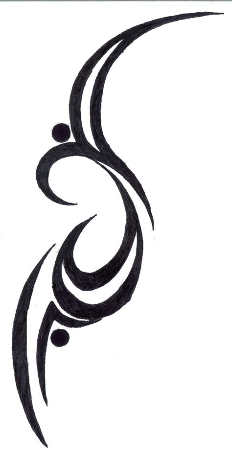 random tattoo designs random tribal design by silverheartx on deviantart