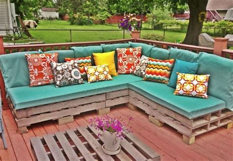 wooden pallet garden sofa plans home decorating excellence