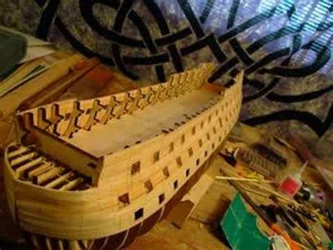 how to make a wooden model house youtube building wooden model of hms victory part i youtube
