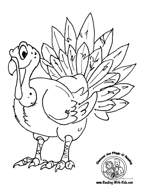 Category Thanksgiving Crafts Getting Crafty With Kerns Coloring Pages Thanksgiving Turkey