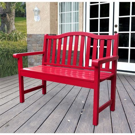 red wood bench diy how to restore a cast iron and wood garden bench