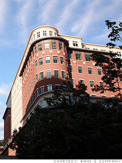 Mba In Boston Usa by 15 Top Mba Employers 6 Bain Company 6 Cnnmoney