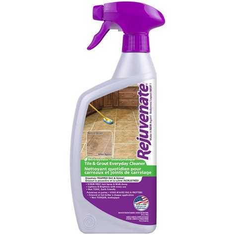 rejuvenate bio enzymatic tile grout cleaner the home