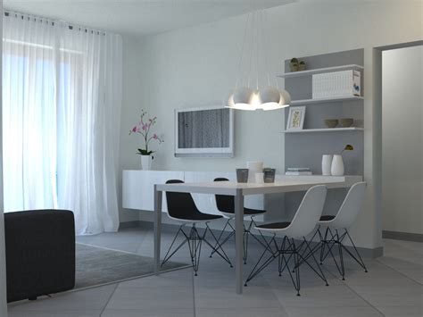 living soggiorno una zona living total white interiorbe