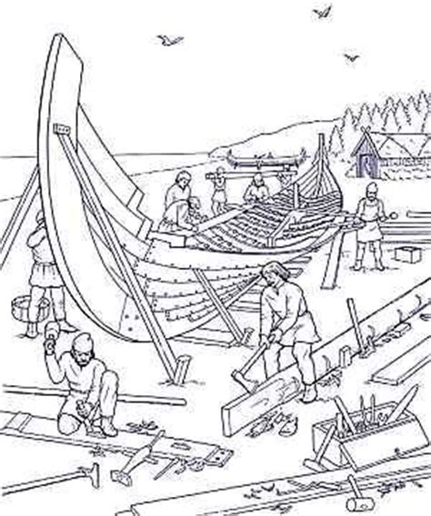 lds coloring pages nephi builds a ship use for nephi needed help building the ship primary