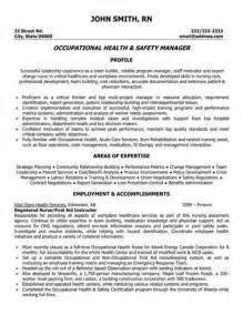 link to an safety manager resume