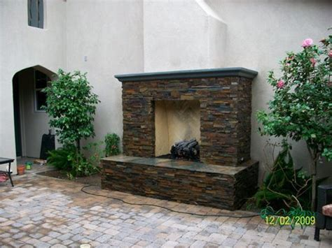 Outdoor Fireplace San Diego by San Diego Outdoor Masonry Fireplaces Bbqs Pizza Ovens