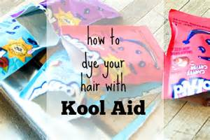 Should Hair Be Washed Before Coloring - kool aid hair dye tutorial everything pretty